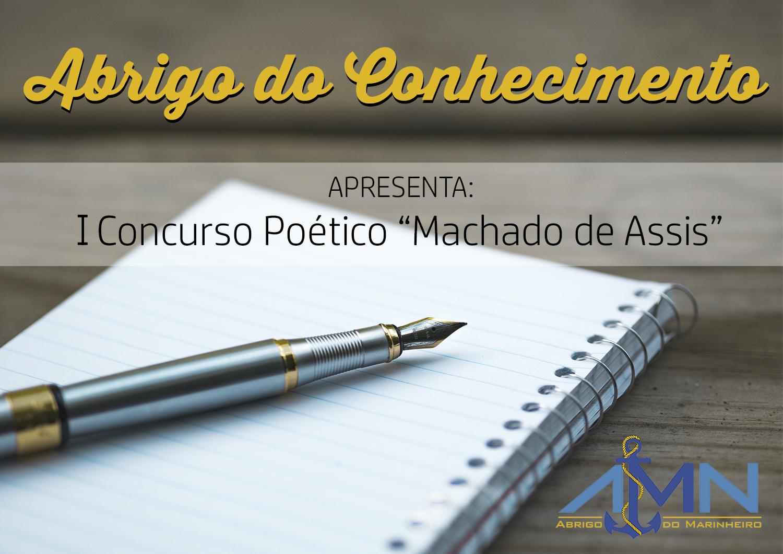 concurso poético Machado de Assis